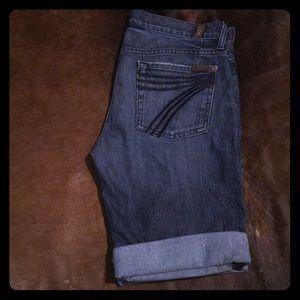 7FAMK dojo shorts
